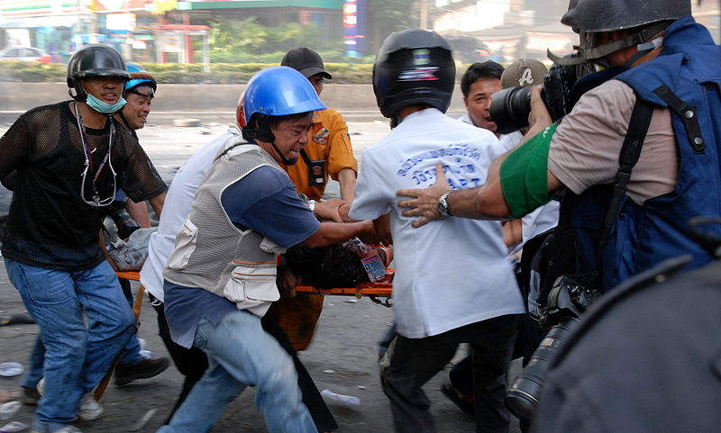 Thai rescue workers
