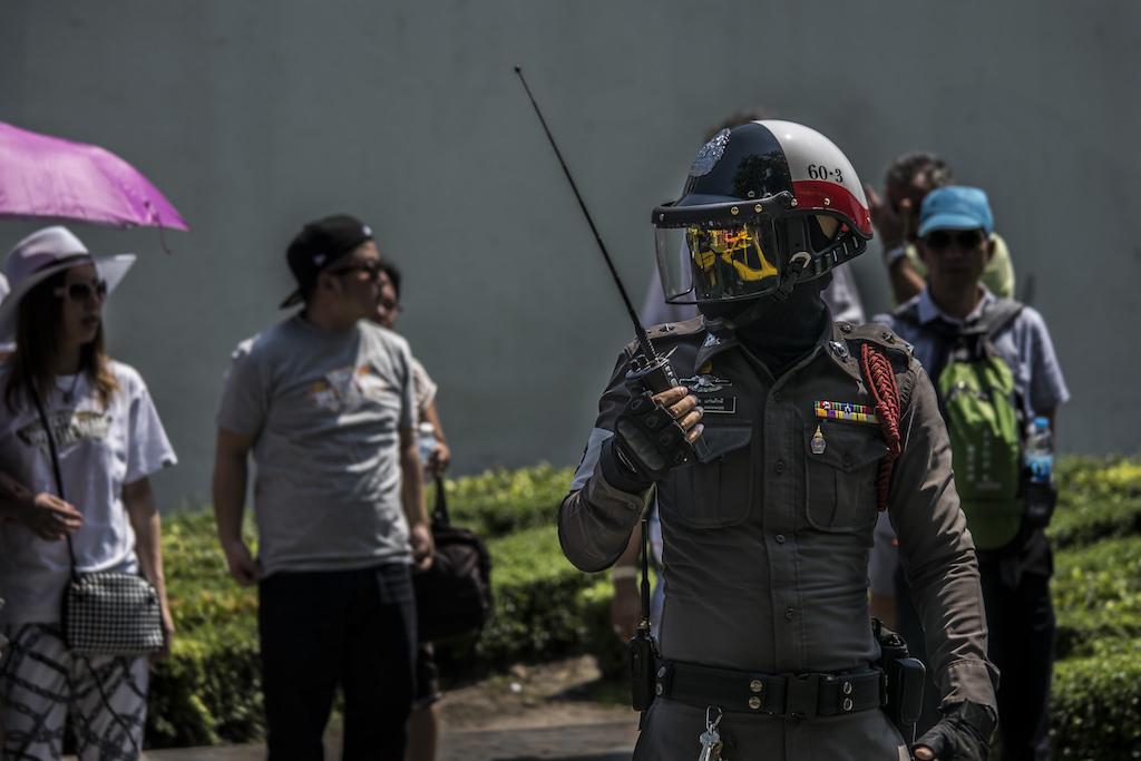 Thailand tourist police