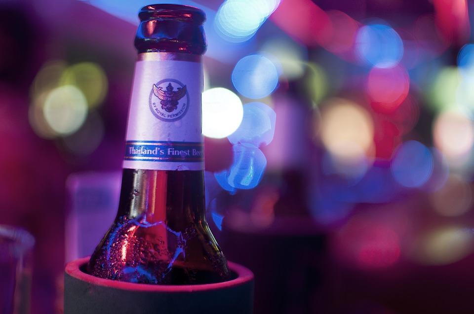 Thai beer bottle