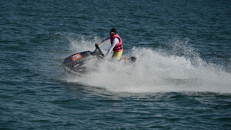 Yamaha WaveRunner jet ski