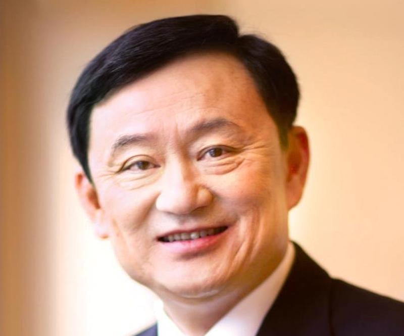 Former Thai PM Thaksin Shinawatra