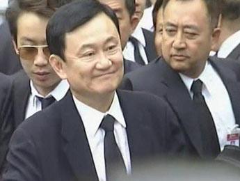 Ex-Thai Leader Embraces Cambodian PM