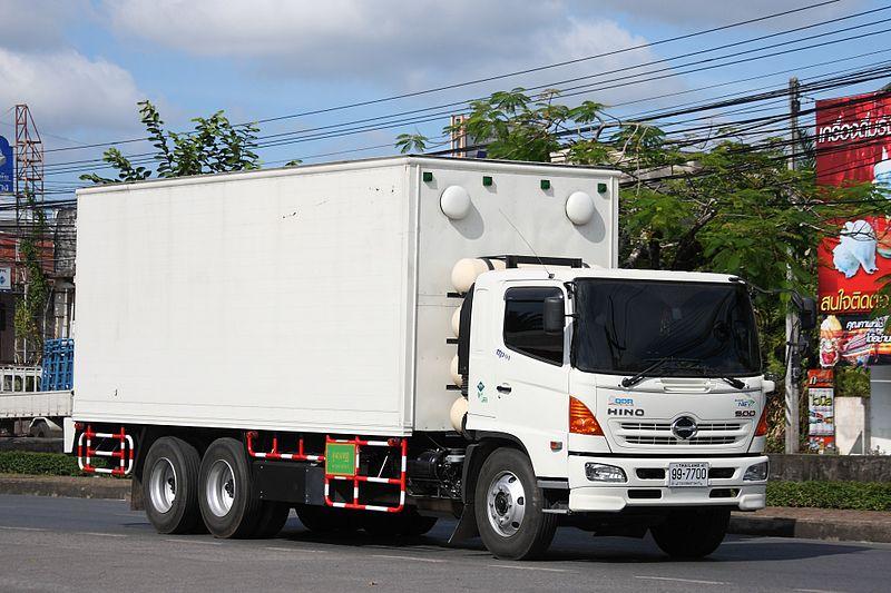 Hino 500 truck in Thailand