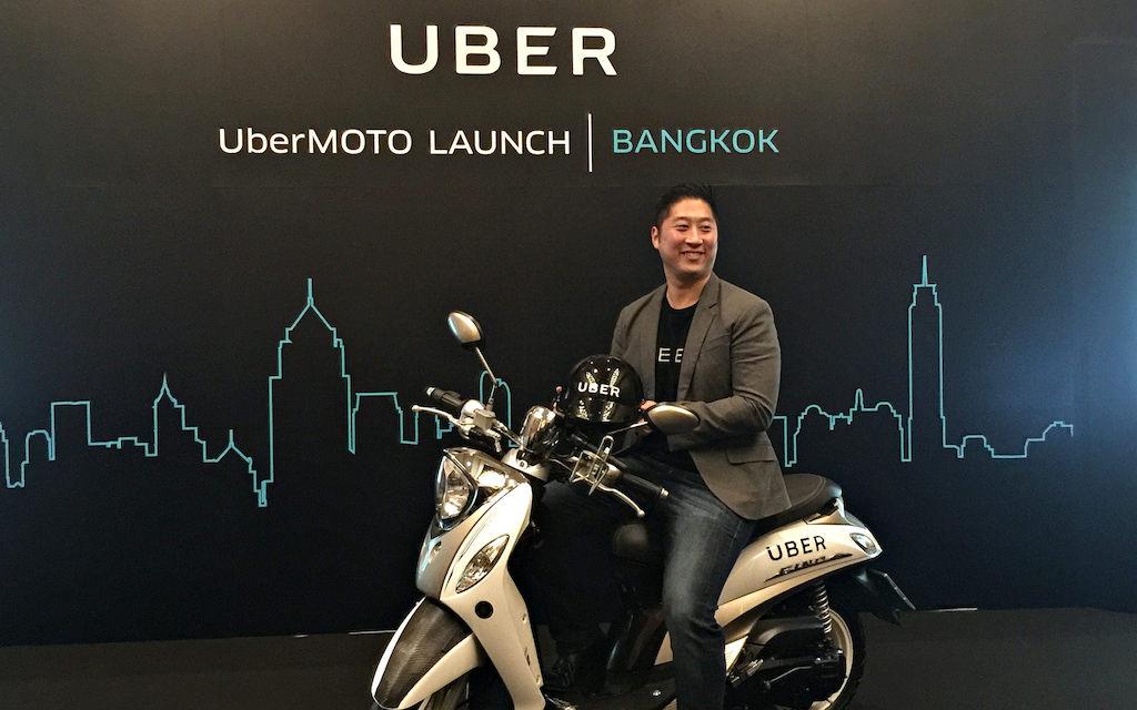 UberMoto launch in Bangkok