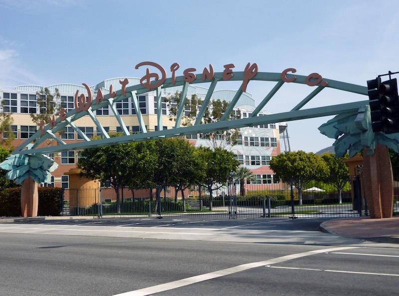Walt Disney Studios in California