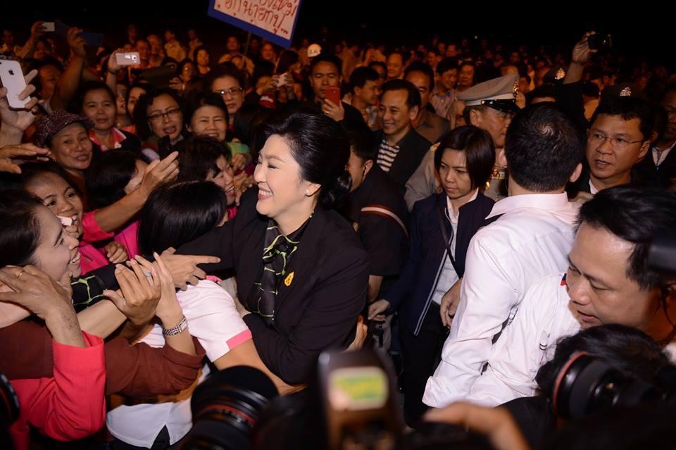 Premier Yingluck Shinawatra visits Northeastern provinces