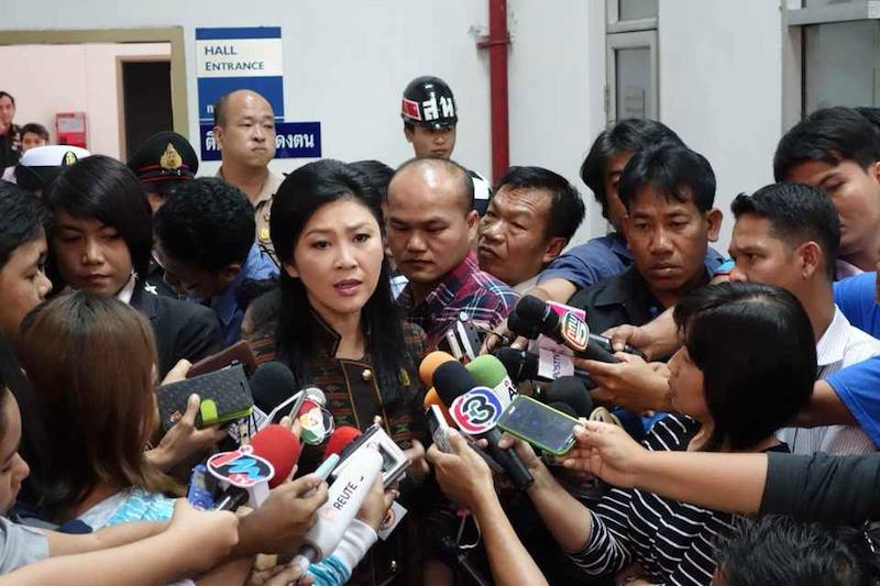 PM Yingluck Shinawatra denies charges made by NACC over rice scheme