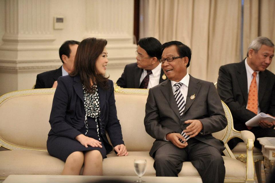 Thai PM Yingluck reaffirms Thailand as Japan's strong economic partner