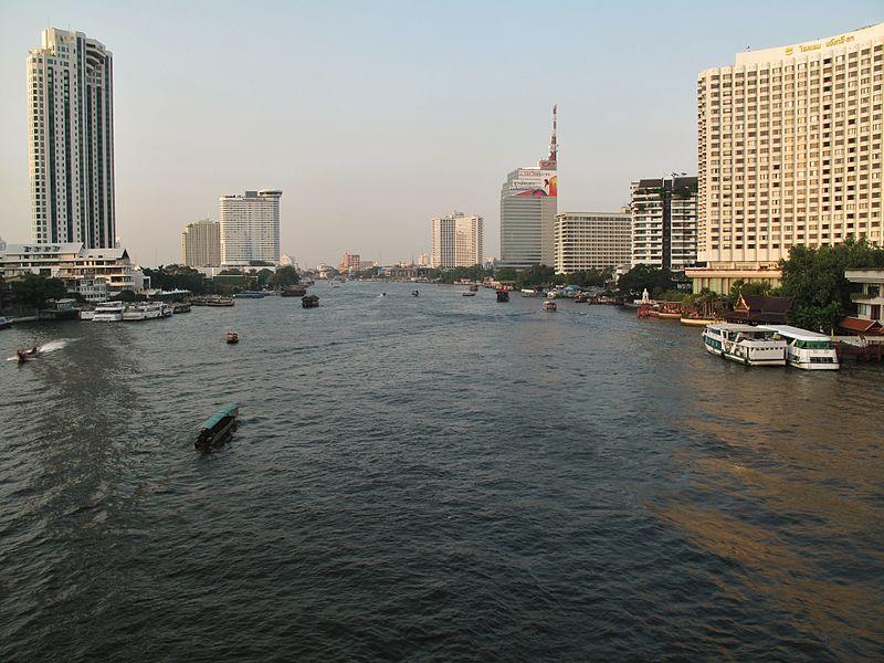 The Chao Phraya River in Bangkok