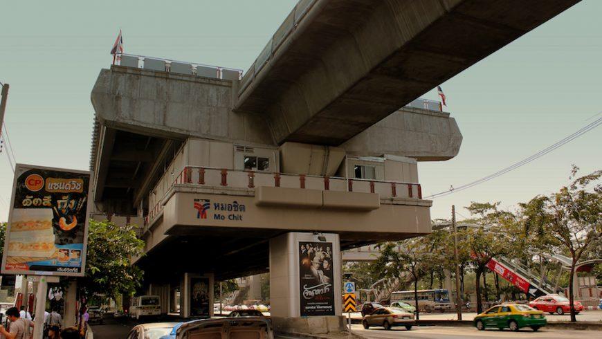 Mo Chit Skytrain Station in Bangkok