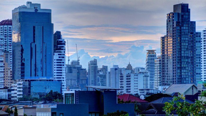 High rise buildings in Bangkok