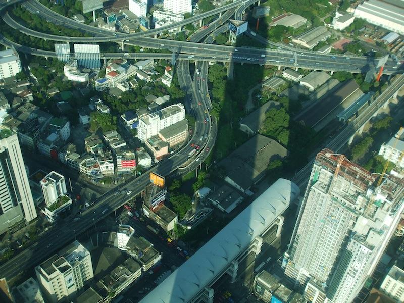 View from the Baiyoke Tower II in Bangkok
