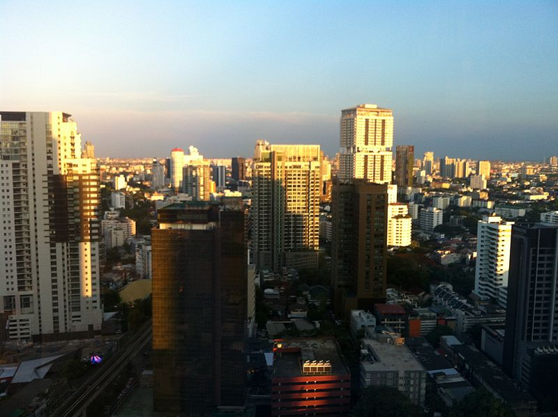 High-rise buildings in Bangkok