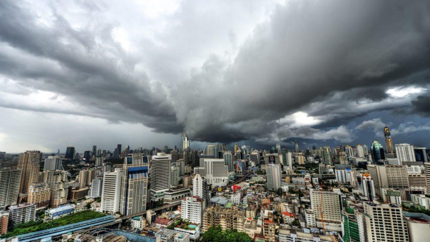 Clouds over Bangkok