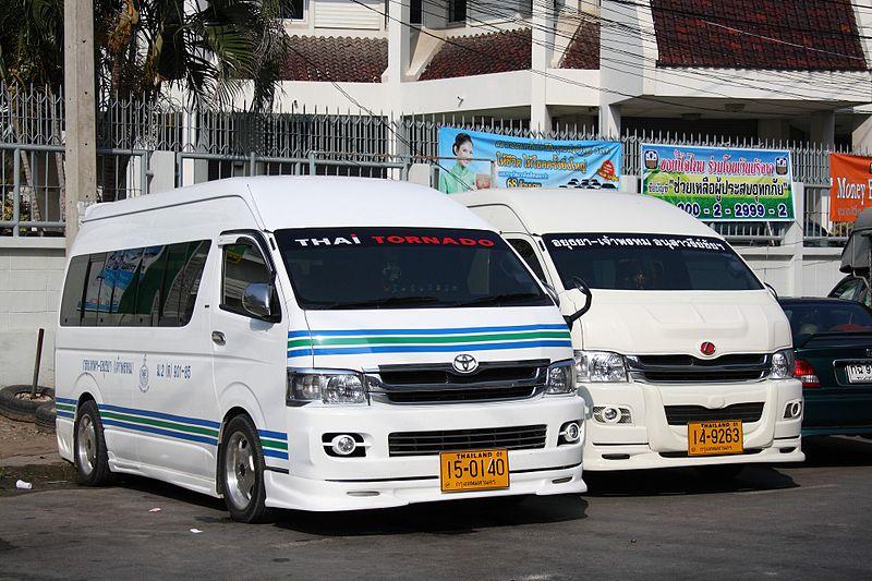 Driver in Bangkok van crash surrenders