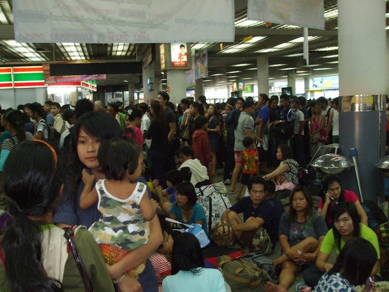 Three teens wanted for Bangkok bus terminal shootings