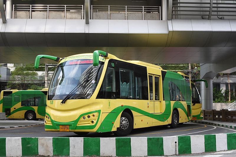 Bangkok BRT Sunlong buses