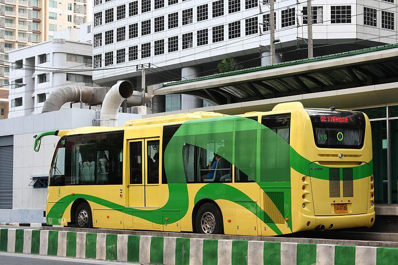 Bangkok BRT bus Sunlong SLK6125CNG