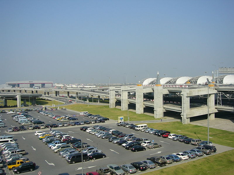 Suvarnabhumi Airport parking lots