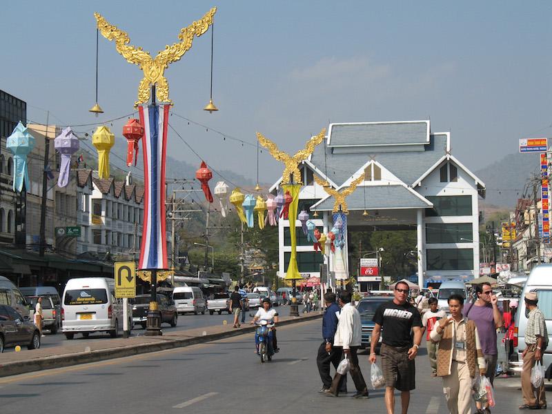 Mae Sai Pass in Chiang Rai
