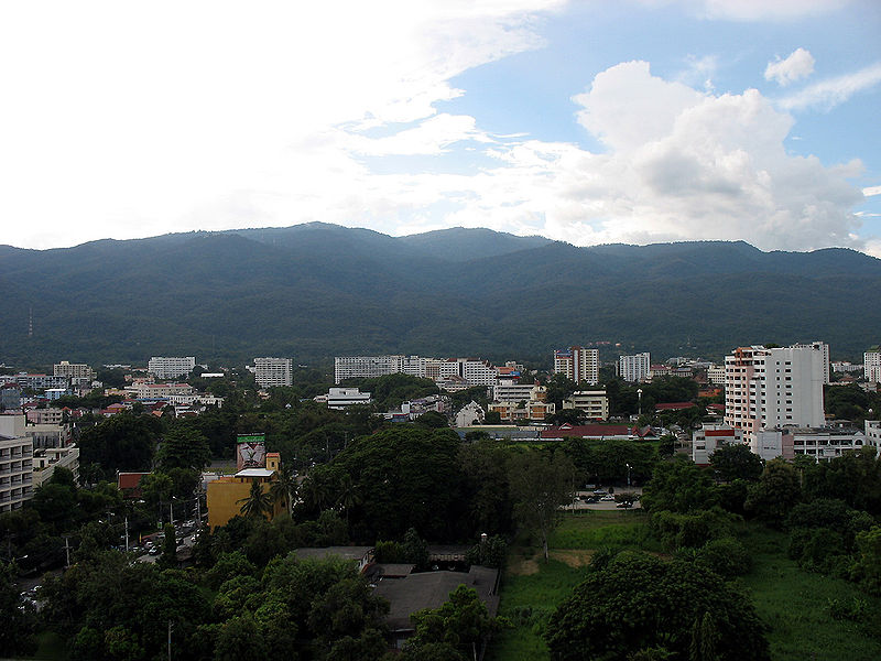 Hills in Chiang Mai