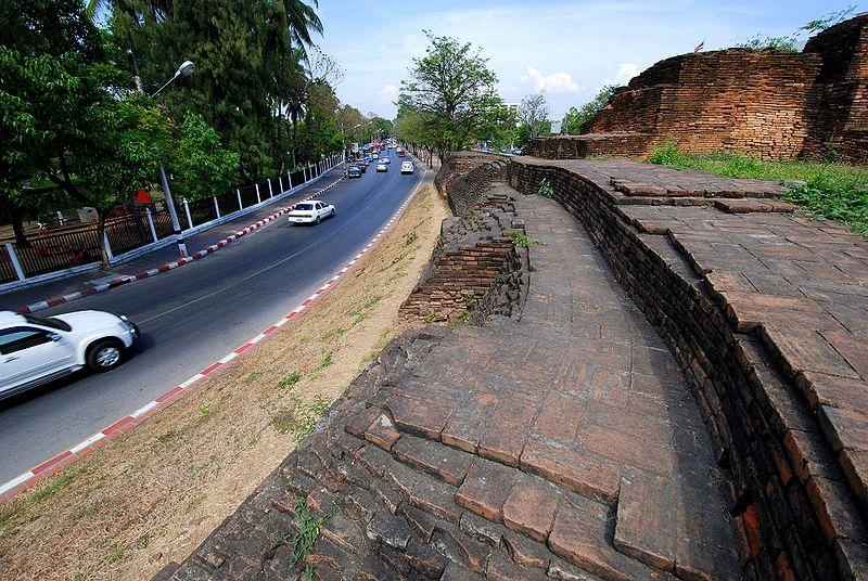Ku Huang citadel in Chiang Mai.