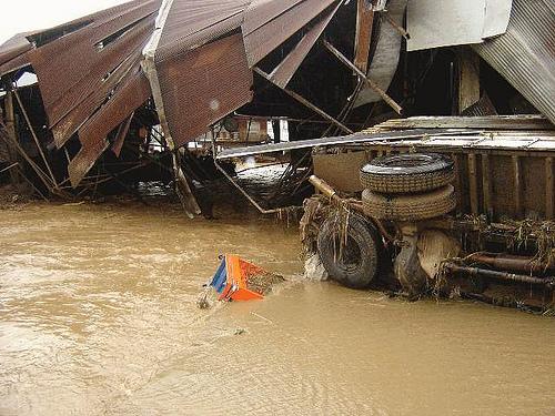 Phatthalung under 60-70 cm of water due to heavy rain