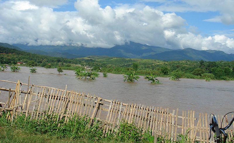 Floods in Thailand.
