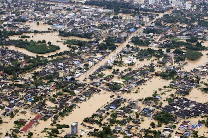 Floods in Southern Thailand