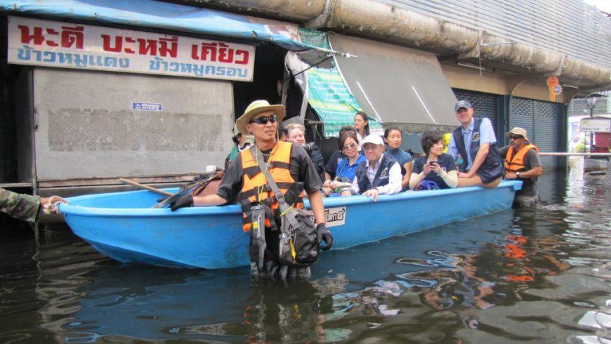 Thailand floods on November 2011