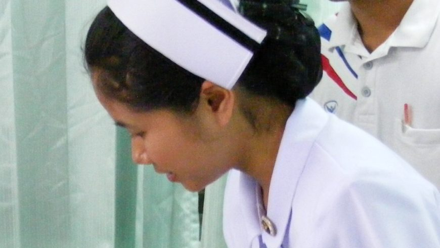 Nurse at Na Wa Public Hospital (Thailand)