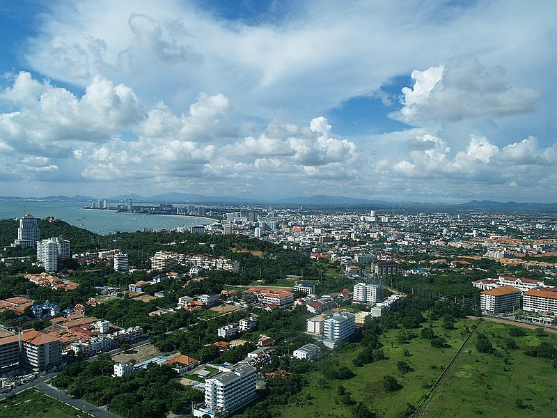 View of Pattaya in Chonburi