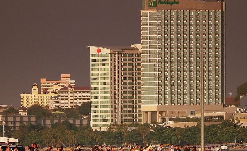 Buildings in Pattaya