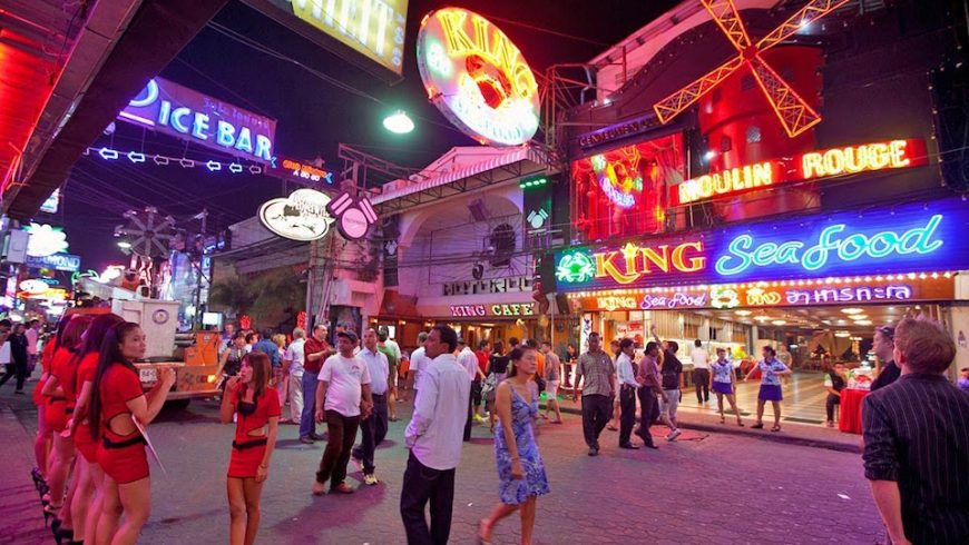 Street in Pattaya, Thailand