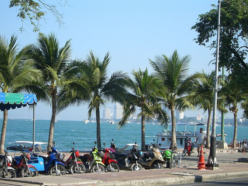 Italian assaulted on Pattaya Beach