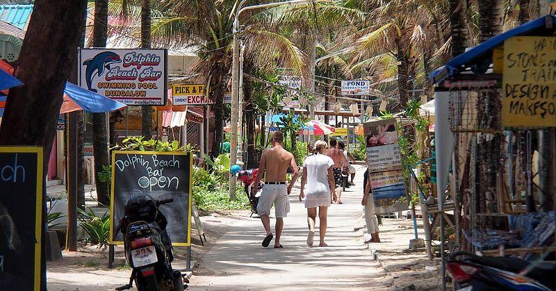 Street in Kamala Beach, Phuket