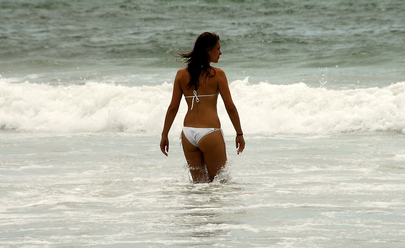 Female tourist in Phuket