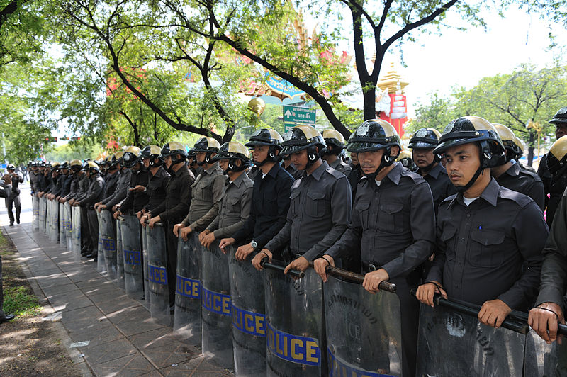 Policeman Beaten, Severely Injured By Anti-Govt Protesters