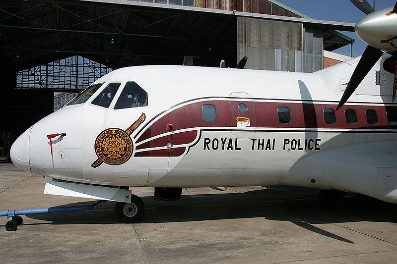 Royal Thai Police Airtech CN-235-100M QC aircraft