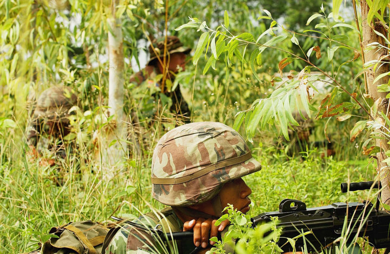 Three RKK insurgents killed in clash with soldiers in Narathiwat