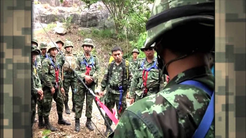 Royal Thai Army soldiers