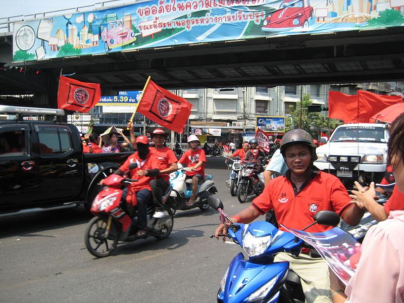 Red shirts to rally at Bangkok Rajamangala Stadium Sunday