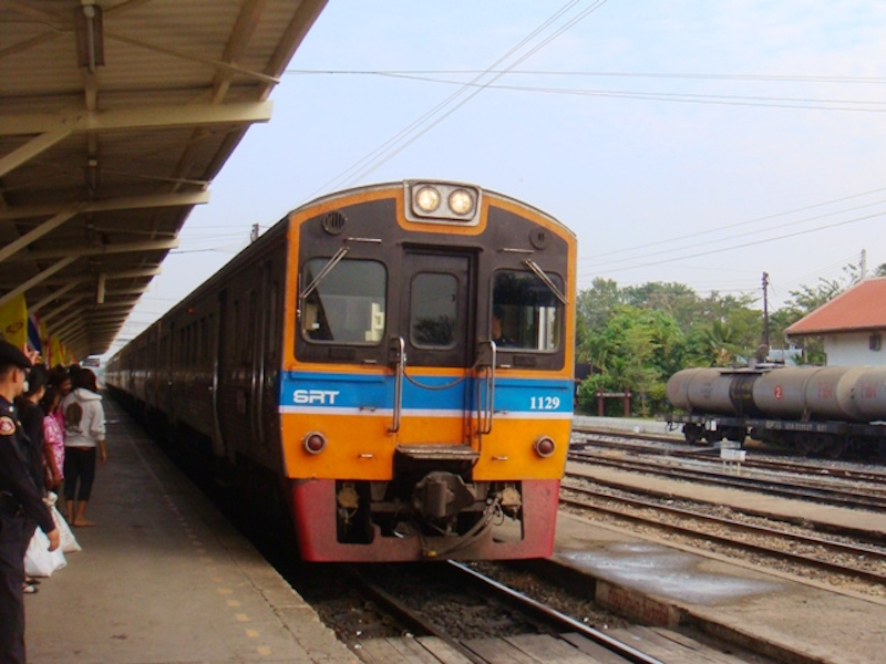 Uttaradit-Chiang Mai train service closed for maintenance