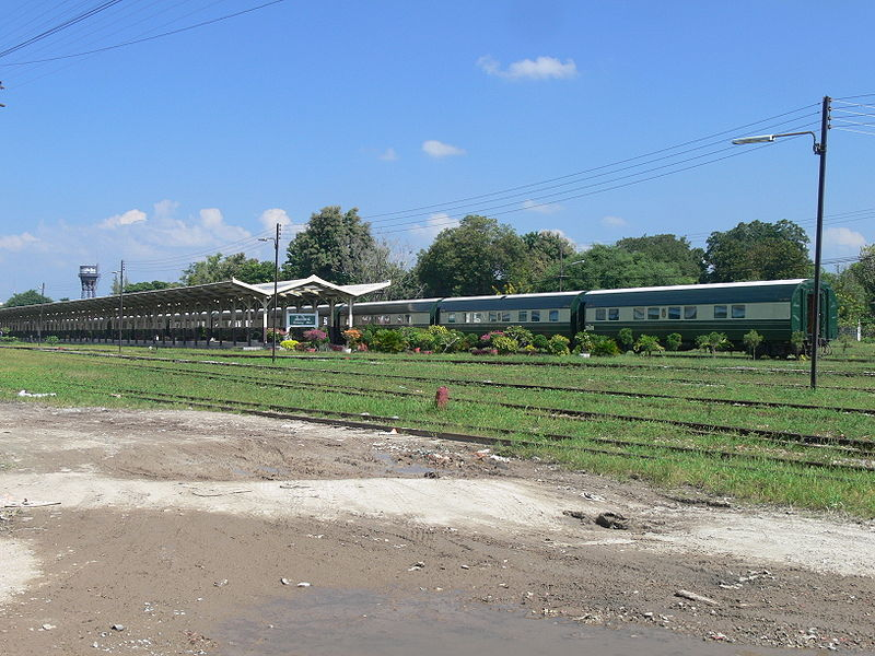 Eastern & Oriental Express train in Chiang Mai