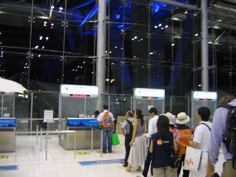 Pakistani murder suspect arrested at Suvarnabhumi Airport
